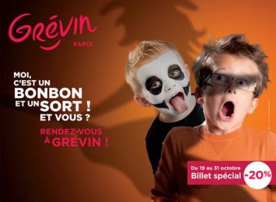 Halloween en famille au Musée Grévin