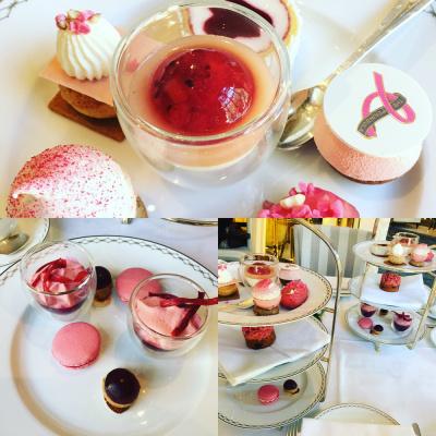 Le Peninsula in Pink, le tea-time spécial octobre rose