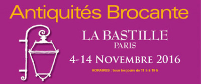 Le salon antiquité brocante 2016 à la bastille