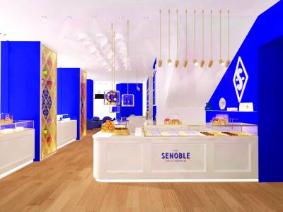 Senoble ouvre sa première pâtisserie à Paris