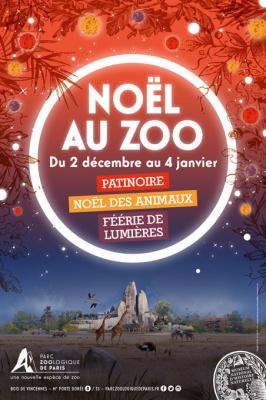 Vacances de Noël 2016 au Parc Zoologique de Paris
