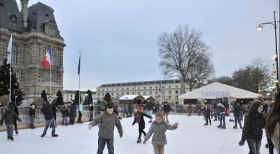 La patinoire écologique de Noël 2016 à Versailles