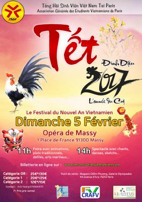 Le Festival du Nouvel An Vietnamien à l'Opéra de Massy