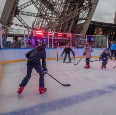 La patinoire sur la tour eiffel 2016 2017 - Patinoire petit port horaire ...