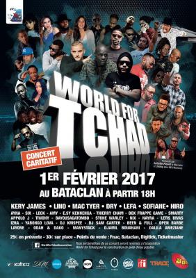 Concert World For Tchad au Bataclan de Paris en 2017