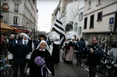 Fête de la Saint-Vincent et de la Coquille Saint-Jacques 2017 à Montmartre