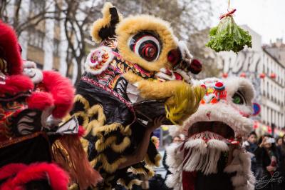Défilé du Nouvel An Chinois à Italie 2