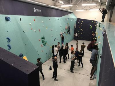 Arkose Paris Nation, la première salle d'escalade à Paris