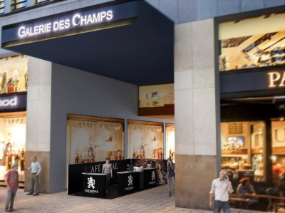 Café Royal investit les Champs Elysées et offre café et wifi gratuit