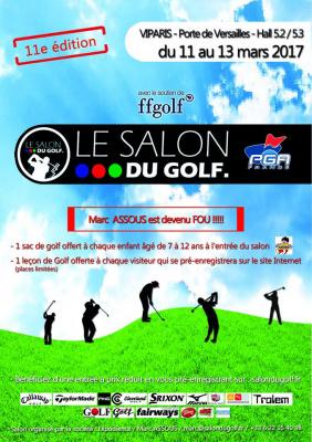 Le Salon du Golf 2017 à Paris