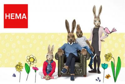 Chasse aux oeufs de Pâques 2017 dans les magasins Hema