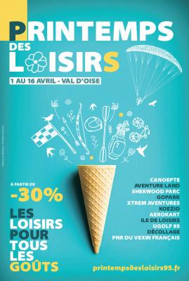 Le Printemps des Loisirs, le bon plan sorties en Val d'Oise