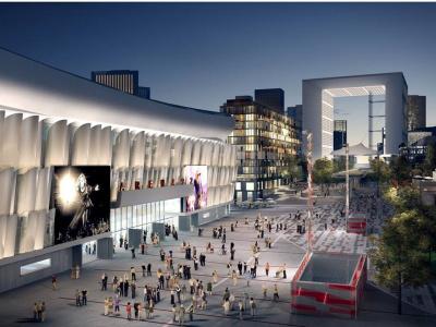 U Arena : Ouverture prévue en octobre 2017 à Paris La Défense