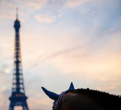 Paris Eiffel Jumping 2017, le défilé de cheval dans Paris