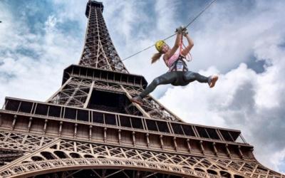 Un vol plané depuis la Tour Eiffel ?