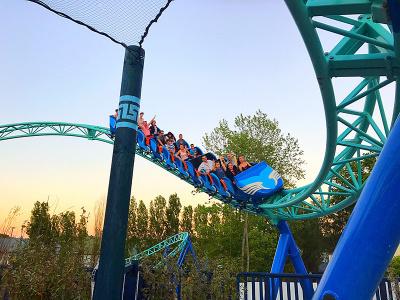 Pégase Express au Parc Astérix, la nouvelle attraction