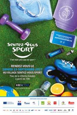 Sentez-vous sport 2017 à Paris