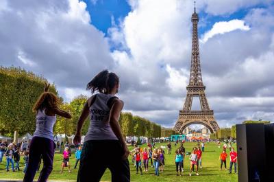 Famillathlon à Paris 2017 au Champs de Mars