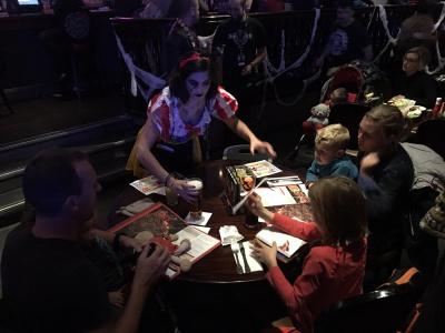 Halloween au Hard Rock Café Paris 2017