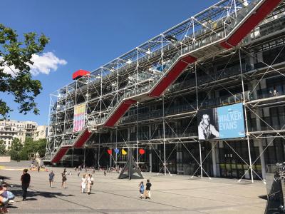 Le Centre Pompidou transformé en club pour ses 40 ans