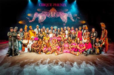Cirkafrika 3 au Cirque Phénix