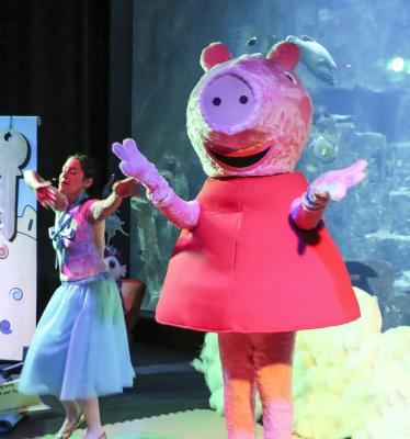 Peppa Pig s'installe à l'Aquarium de Paris