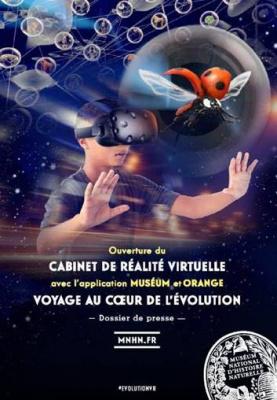 Le Cabinet de Réalité Virtuelle s'ouvre au Muséum national d'Histoire naturelle