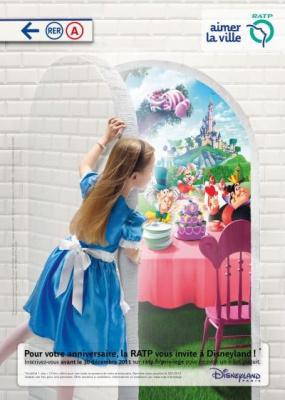 La RATP vous offre un billet pour Disney pour votre anniversaire ! 65265-ratp-billet-anniversaire-disney