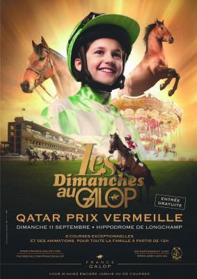 les dimanches au galop, qatar prix vermeille, hippodrome de longchamps, dimanche 11 septembre