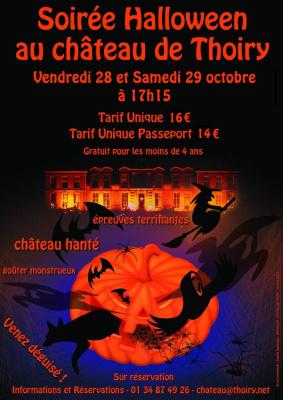 halloween à thoiry, 2011, chateau de thoiry