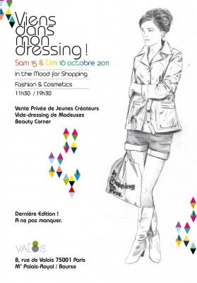 Viens dans mon dressing, In the Mood for Shopping, jeunes créteurs, modeuses