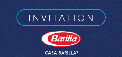 invitation, casa barilla 2011
