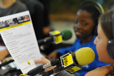 l'atelier radio france info, kidexpo 2011