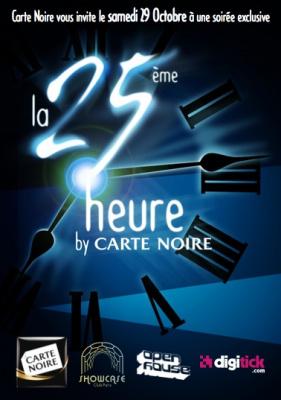 la 25ème heure by carte noire, showcase