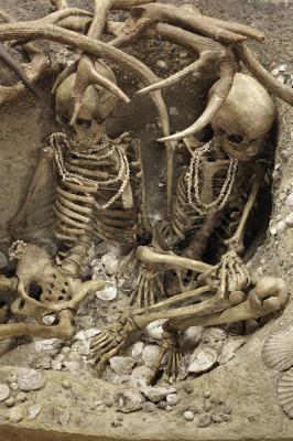 Préhistoire(s) l'enquête au Palais de la Découverte, sépulture de Téviec