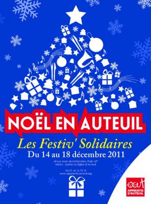 Noël en auteuil, festiv' solidaires