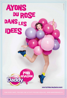 daddy au bhv, pink invasion