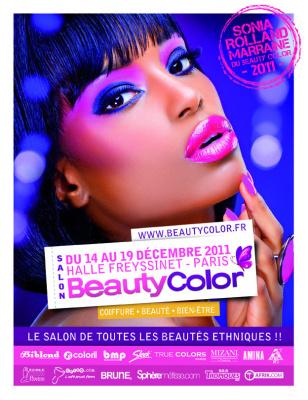beauty color 2011, salon de la beauté noire et métisse