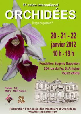 salon international des orchidées 2012