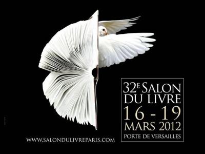 salon du livre 2012, parc des expositions, versailles