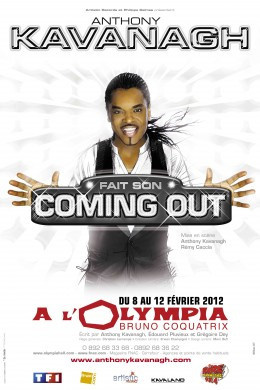 anthony kavanagh fait son coming out à l'olympia