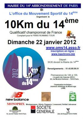 10 km du 14e 2012