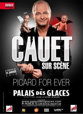 cauet au palais des glaces, picard for ever