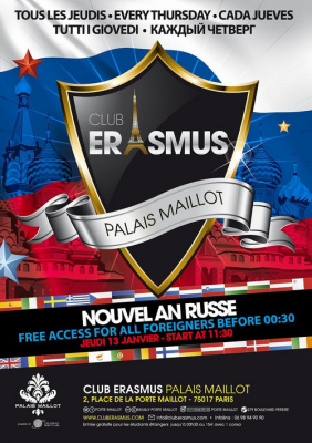 nouvel an russe club erasmus