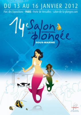 salon de la plongée 2012, porte de versailles, salon plongée paris