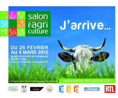 Salon de l 39 agriculture 2012 for Salon l agriculture