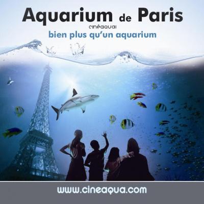 saint valentin au cineaqua, saint valentin aquarium de paris