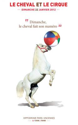 le cheval et le cirque, hippodrome de vincennes