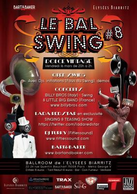 Le Bal Swing #8 à l'Elysées Biarritz