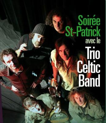 Le Trio Celtic Band pour la Saint Patrick au Théâtre Traversière